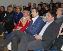 Župan Boštjan Trilar na črnogorskem večeru v Kranju